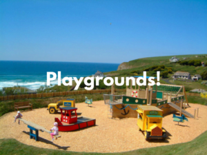 baby and toddler friendly places to stay with playgrounds