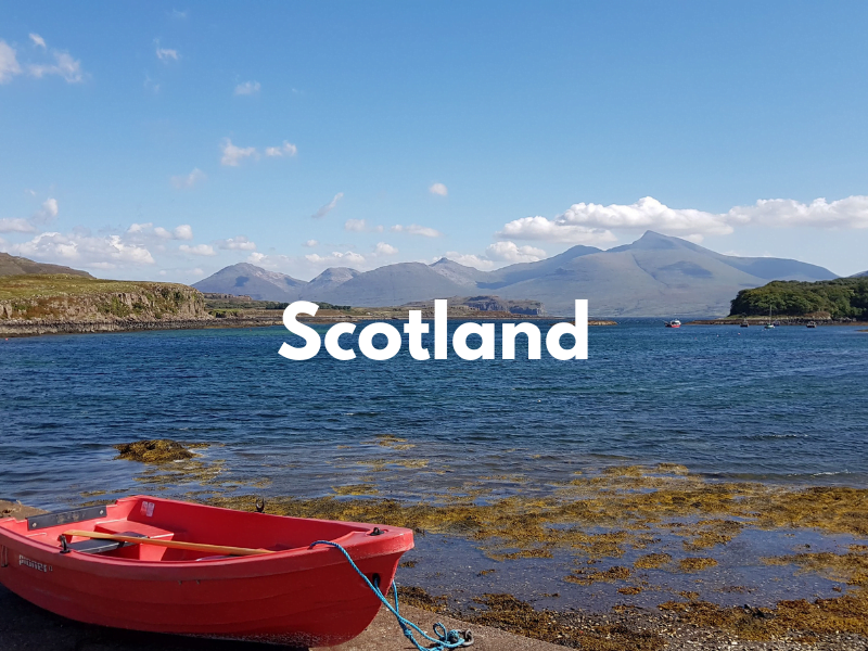 places to stay with babies and toddlers in scotland