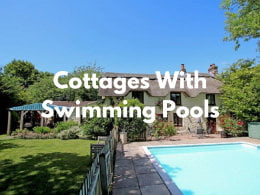 baby and toddler friendly cottages with swimming pools