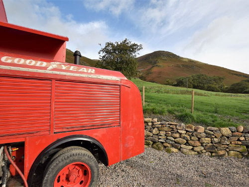 quirky toddler friendly cottage in the Lake District
