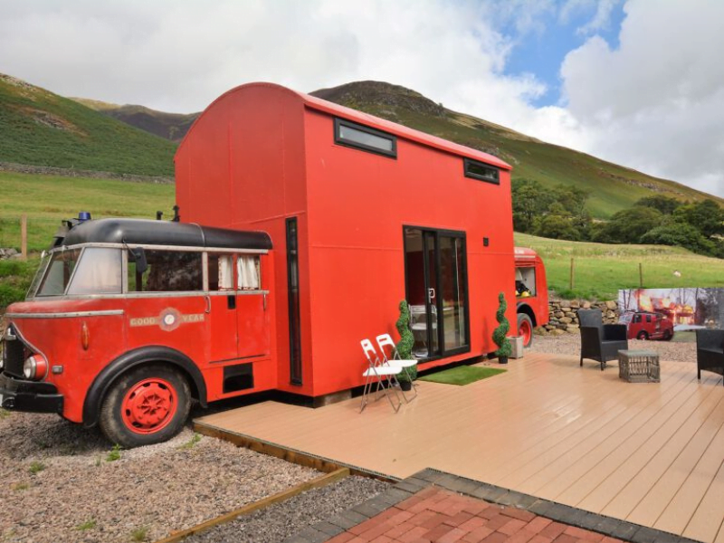quirky place to stay with toddlers in the lake district