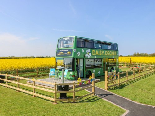converted bus in yorkshire