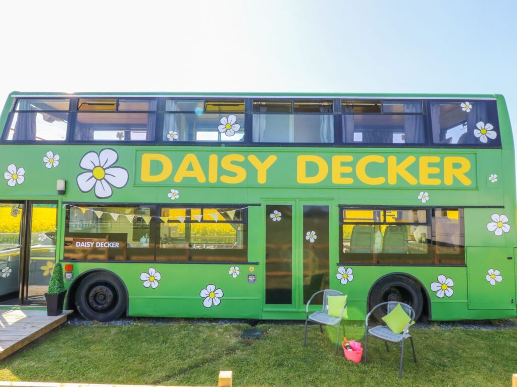 Converted toddler friendly bus to stay in