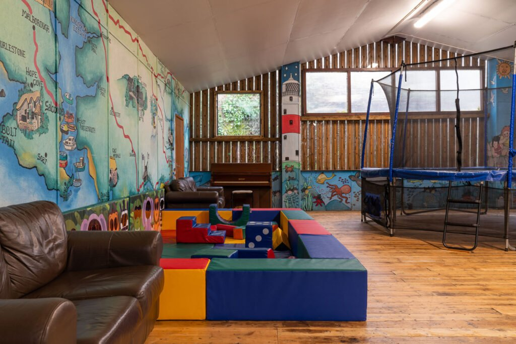 toddler friendly cottages with a soft play