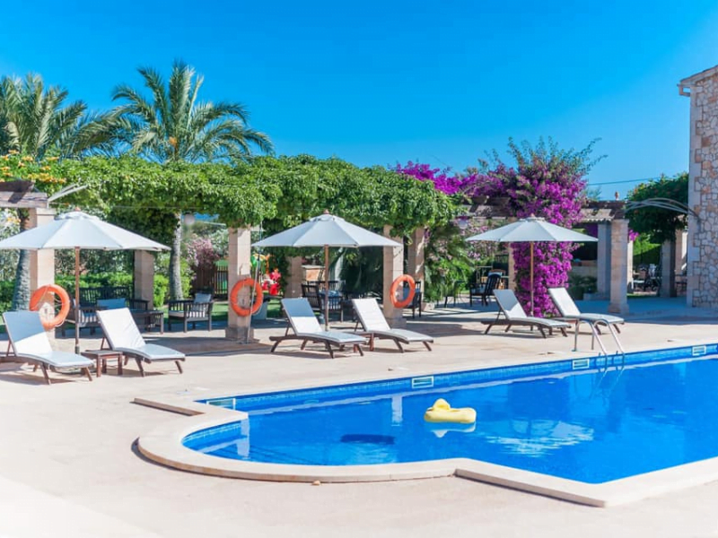 luxury baby and toddler friendly finca in majorca